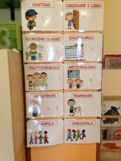 Cartellone incarichi scuola Classroom Jobs, Classroom Organization, Classroom Management, Token Economy, Welcome To School, Cooperative Learning, Educational Programs, Circle Time, Homeschool