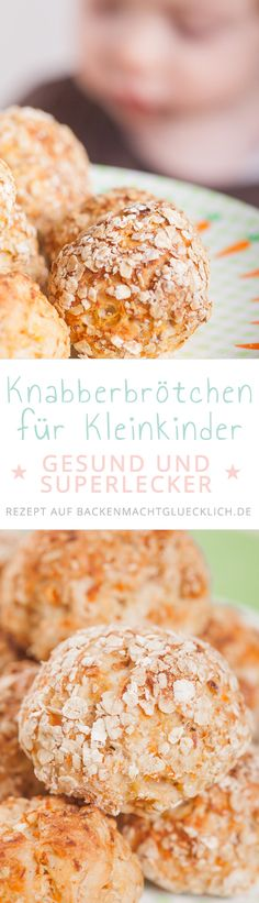 Nibble bun for toddlers Baking makes you happy- Knabber-Brötchen für Kleinkind. - Nibble bun for toddlers Baking makes you happy- Knabber-Brötchen für Kleinkinder Toddler Meals, Kids Meals, Easy Meals, Baking With Toddlers, Baby Food Recipes, Snack Recipes, Baby Snacks, Good Food, Yummy Food