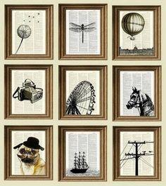 Allie Hilt: Newspaper graphic art #Lockerz
