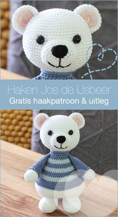 Crochet Dolls, Knit Crochet, Crochet Hats, Crochet Animals, Hello Kitty, Diy And Crafts, Bunny, Snoopy, Teddy Bear