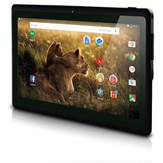 """NeuTab® N7S Pro 7 inch Quad Core Google Android 5.1 Lollipop Tablet PC 1GB RAM 8GB Nand Flash 7"""" 178 Degree View IPS 1024x600 HD Display Bluetooth Dual Camera Google Play 3D Game Supported - neutab. N7S Pro – Gear up to a new era The neutab. N7S Pro tablet is equipped with a vibrant 7"""" HD IPS (In Plane Switching) display thatkeeps the picture sharp from practically any angle, ideal of reading, playing games, browsing the web,or watching movies. Upgraded IPS displ"""