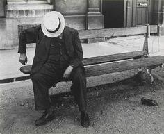 Dormeur au canotier by Brassaï, 1930-1940