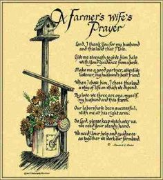 Farmers Wife Prayer Ron Knox © Tapestry