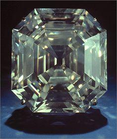 Diamond Gemstones The carat Portuguese Diamond; the largest cut diamond to come from Brazil, and the largest diamond in the Gem Diamonds, Colored Diamonds, Rare Gems, Beautiful Rocks, Gems Jewelry, Jewellery, Rocks And Gems, Diamond Gemstone, Rocks And Minerals