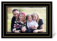 Classic Double Frame Christmas Card from Shutterfly.com