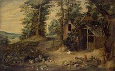Tenier David II Landscape