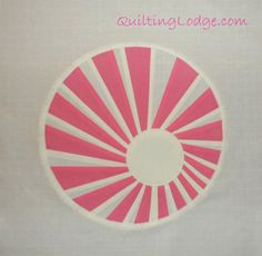 Quilting Lodge Blog: Swirly Twirly Dresden    THANK YOU FOR SHARING!    @Mary Levick Lodge On devilbox.