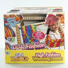 High Fashion Weaving Loom by CK crafts. $13.69. 1 weaving loom. Contains:. instructions. yarn holder. multi colored yarn. Great craft for kids! Make an awesome, handbag, scarf or hat!