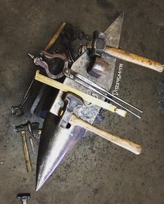 "dirtysmith: "" Yesterday was #forging bottom tools for the #anvil. Used fullers…"