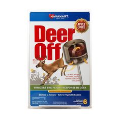 Waterproof deer repellent stations keep deer away from your garden & plants all season! Just sake them into the ground, hang them from a fence/tree branch, or stick them right into your flowerpots!