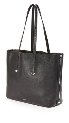 Botkier Bowery Tote Studs, Pouch, Zip, Tote Bag, Leather, Bags, Clothes, Handbags, Outfits