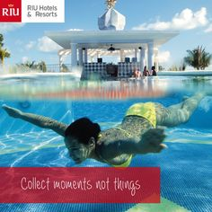 Collect moments not things - vacation - Jamaica - swim-up Bar -vacation quotes - vacation inspiration