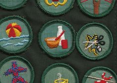girl scout patches.