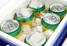 Easiest Things to Sell at a Yard Sale - Bottled Water and Soft Drinks - Even if nobody is interested in buying your stuff, you can net some extra cash if you have an ice chest full of cold drinks waiting for thirsty shoppers on a hot summer day. Price the