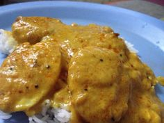 Fish KadhiA combination of Bengal meets Punjab! It is also a popular dish in Pakistan! You can substitute the fish with anda, veges, mongodi, gatta, etc.Take curd, mix in dry roasted besan. beat well with the curd and keep aside.For f...