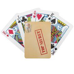 Cartões de jogo extremamente secretos do envelope jogos de baralhos