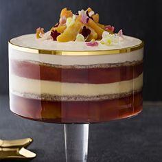 Peach Jelly, Dacquoise, Baked Alaska, Kinds Of Desserts, Roasted Almonds, Trifles, Pavlova, Tray Bakes, Christmas Time