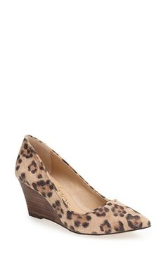 Sole Society 'Juli' Wedge Pump (Women) available at #Nordstrom