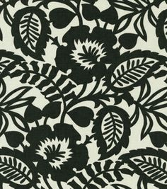 Home Decor Upholstery Fabric-Waverly Esmee / Panther & upholstery fabric at Joann.com