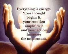 Everything is energy. Reiki teaches us to use energy for our own wellbeing and for the wellness of others. The Words, Spiritual Awakening, Spiritual Quotes, Reiki Quotes, Affirmations, Everything Is Energy, E Mc2, Quantum Physics, Positive Thoughts