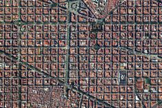 The Eixample District in Barcelona, Spain is characterised by its strict grid pattern and apartments with communal courtyards. This thoughtful and visionary design was the work of Ildefons Cerdà Earth And Space, Earth Day Quiz, Aerial Images, Birds Eye View, New Perspective, Urban Planning, Barcelona Spain, Aerial Photography, Aerial View