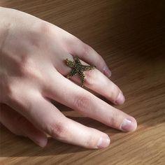 Funky Starfish Ring