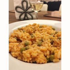 Risotto - With vegan parmesan! ______________________________________________________  Risotto (I use Scotti)  Sweet peas (I prefer canned). -  Tomato paste. -  Extra Virgin olive oil. -  Chicken broth or 2 bouillon cubes. -  Sea salt to taste. -  Go Veggie vegan parmesan. -  _______________________________________________________ #crohns #crohnsdisease #crohnies #ulcerativecolitis #colitis #IBD #IBS #autoimmune #chronicillness #medicine #glutenfree #dairyfree #fitness #healthyeating…