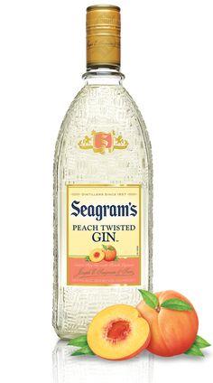Seagram's Peach Twisted Gin | Seagram's Gin
