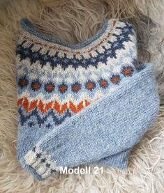 Riddari mod 21 merket Knitted Mittens Pattern, Knit Headband Pattern, Knit Mittens, Knitting Patterns, Fair Isle Knitting, Free Knitting, Icelandic Sweaters, Knit Vest, Dressed To Kill
