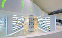 Pharmacy Design, Athens, GREECE, Placebo pharmacy, KLab Architecture, www.facebook.com/epsilonbratanis