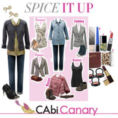 This week, the CAbi Canary shows YOU how to Spice Up Your Life! You'd be surprised how a few small touches here and there can make a world of difference (and fun and glamour!) in your life!
