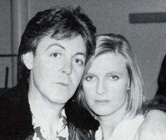 Paul and Linda McCartney Paul Mccartney, Linda Eastman, George Martin, Beatles Love, Sir Paul, Eyebrows On Fleek, The Fab Four, Wife And Girlfriend, Saddest Songs