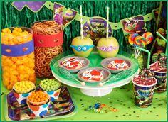 #Partysupplies - Nickelodeon Teenage Mutant Ninja Turtles Basic #PartyPack
