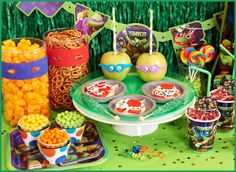 #Partysupplies - Nickelodeon Teenage Mutant Ninja Turtles Basic #PartyPack