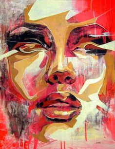 Red Portrait by Danny O'Conner