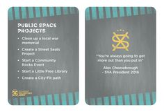 Project Ideas - Public space projects.