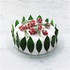Christmas cake recipe. Katie Bishop's Christmas cake is a festive treat and can be made weeks in advance.