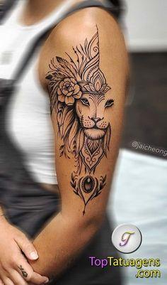 Mama Tattoos, Girl Neck Tattoos, Hip Tattoos Women, Tattoos For Women Half Sleeve, Leo Tattoos, Back Tattoo Women, Couple Tattoos, Body Art Tattoos, Arabic Tattoos