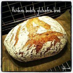 World's best gluten free bread (recipe in Danish) Best Gluten Free Bread, Lactose Free Recipes, Gluten Free Baking, Sin Gluten, Danish Food, Vegan Bread, Foods With Gluten, Recipes From Heaven, Food Allergies