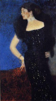Portrait of Rose Von Rosthorn Friedmann, Gustav Klimt