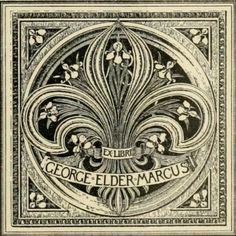 Bookplate by Thomas Tryon, published 1902 in 'Book-Plates of Today', edited by Wilbur Macey Stone