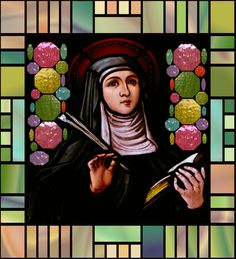St. Gertrude of Nivelles, Abbess