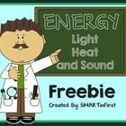 This freebie contains 3 worksheets that you can use with your students to review light, heat and sound energy.  ENJOY!...