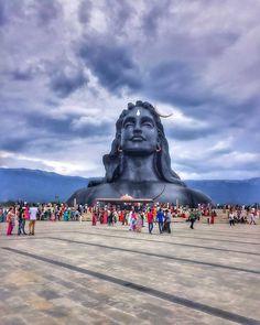 Awestruck  Adiyogi Shiva Statue ( - @my.special.tripod)