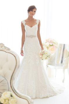 Vestido De Noiva 2017 Lace Wedding Dress With Sashes Elegant Mermaid Wedding Dresses 2017 Bridal Dresses Vestido De Casamento-in Wedding Dresses from Weddings & Events on Aliexpress.com | Alibaba Group