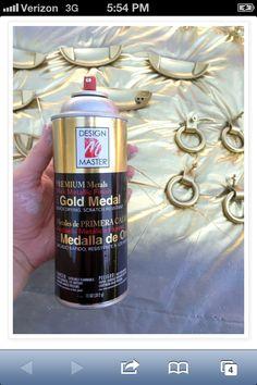 LGN best gold metallic spray
