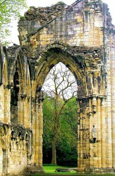 St. Mary's Abbey, York, England