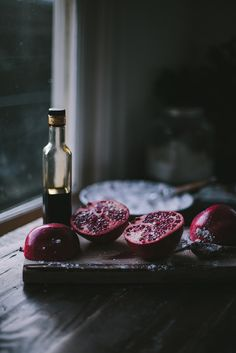 Rosemary Donuts with Pomegranate Balsamic Glaze by Eva Kosmas Flores   by Eva Kosmas Flores