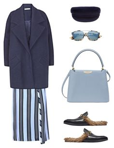 """Untitled #218"" by thetallfashionist ❤ liked on Polyvore featuring Acne Studios, The 2nd Skin Co., Christian Dior, Henri Bendel and Gucci"