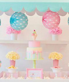 Dessert Table : A Pretty Pastel Ice Cream Party - mom.me